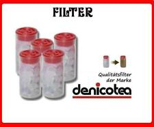 Denicotea Ersatz Filter Nikotinfilter für Shishakat 5er Pack 30 x 15mm