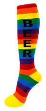 Gumball Poodle Knee High Socks - Beer Multi-Coloured - Unisex
