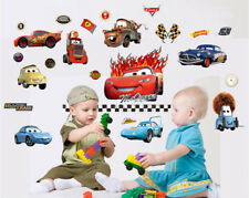 Disney Cars Lightning McQueen Removable Nursery Wall Stickers Decal For Kids