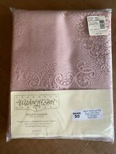"ELIZABETH GRAY Polyester Lace 56""X 84"" Rosewood Color-Window Curtain Panel - NEW"