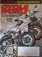 Cycle World Magazine July 2012 10 bikes that Move your Soul Aprilia Tuono V4 Duc