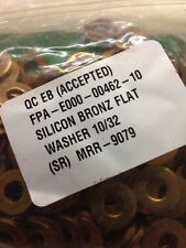 Silicon Bronze Flat Washer #10 25/PCS