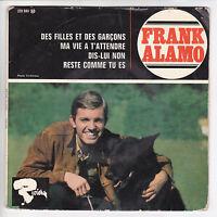 """ALAMO Frank  Vinyl 45 tours EP 7"""" DES FILLES ET DES GARCONS - BARCLAY  RARE"""