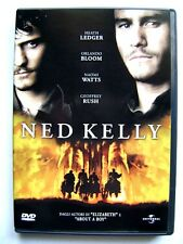 Dvd Ned Kelly con Heath Ledger e Orlando Bloom 2003 Usato fuori cat.