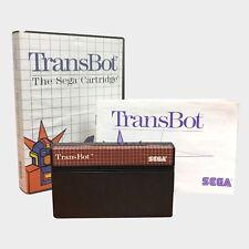 Transbot for Sega Master System PAL GAME