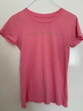 """KITSON T-shirt Pink """"Don't believe the rumors"""" as seen on Britney Spears RARE"""