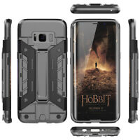 [Tough] Galaxy S8 S9 Plus Slim Fit Case Hybrid Hard PC / Soft TPU For SAMSUNG