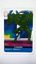 Carte LAMINCARDS Dragon ball Z Yakon 161