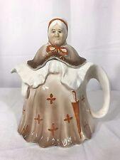 "Vintage ""LITTLE OLD LADY"" Tea Pot Made In England 1920-30's Reg 827653"