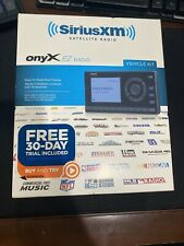 SiriusXM Satellite Radio OnyX EZ Radio Vehicle Kit Brand New
