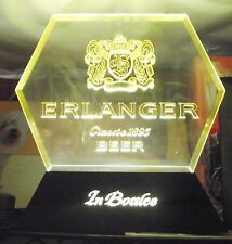 Erlanger Classic 1893 Beer in Bottles~ Electric~ Bar Advertising Sign~Man Cave