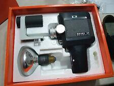 AGFA Movex SV Super 8 Filmkamera OVP mit Bereitschaftstasche und Trageriemen