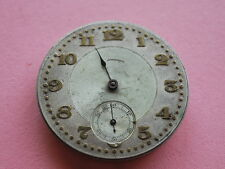 Nice Vintage 1911 Illinois 17J Pocket Watch Movement -- For Parts