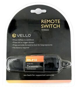 Vello Remote Switch (Wired) RS-P1II for Panasonic Connection - New