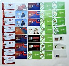 33 x Bulgarian GSM SIM Cards Mobile card & 5 x GSM SIM Chips 28 Mint Condition