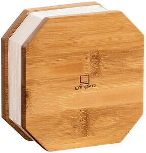 Gingko Rechargeable LED Smart Accordian Desk Lamp with Natural Wood Look G006ME
