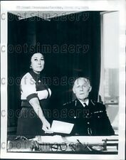 1971 London England Police Commissioner Sir John Waldron Press Photo