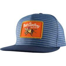 New Neff Bugged Out Youth Snapback Flat Brim Hat Blue Youth