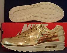 Womens Nike Air Max 1 SP Liquid Gold SZ 10.5 /// Mens Size US 9 ( 616170-700 )