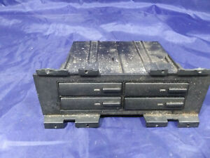 1996 BUICK RIVIERA 3.8 SUPERCHARGED CASSETTE HOLDER, CENTER CONSOLE. OEM
