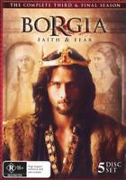 Borgia Faith and Fear: Season 3 (DVD) NEW/SEALED [Region 4]