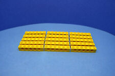 LEGO 15 x Lochstein Lochbalken gelb Yellow Technic Brick 1x6 with Holes 3894