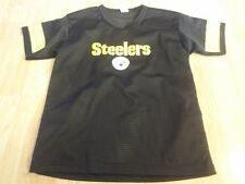 Youth Pittsburgh Steelers M Franklin Football Jersey (Black) Jersey