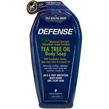 Defense Soap Original Shower Gel Tea Tree Oil Body Soap - Soft Pack