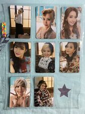 GIRLS' GENERATION SNSD Lion Heart 5TH ALBUM Official Photocard Full Set Of 8