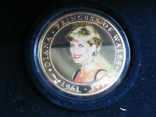 Cook Islands 2007 gold plated proof $5 Five Dollars Diana Princess of Wales