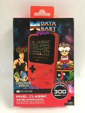 My Arcade Pixel Classic Data East Hits w/ 300 Built In Games Ships In Bub Mailer