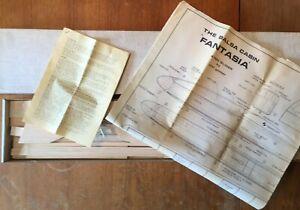 """Balsa Cabin FANTASIA Vintage RC Glider Kit. 100""""/2540mm. Rudder/Elevator"""