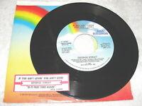 "George Strait ""If You Ain't Lovin'; You Ain't Livin"" 45 RPM,7"",Nice EX!,+Jukebox"