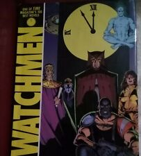 Watchmen Alan Moore Dave Gibbons Hardcover Hc 2008 Graphic Novel