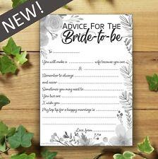 Advice For The Bride-to-be   10 Pack   Words of Wisdom   Hen Party Accessories