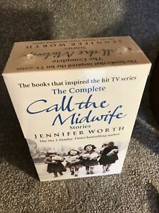Complete Call the Midwife 3 Books Trilogy Jennifer Worth Book TV Series New
