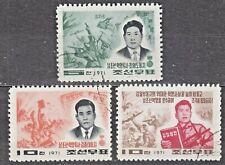 KOREA 1971 used SC#982/84 set, South Korean Revolutionaries.