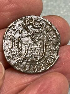 1600's Pirate Cob Coin Authentic Spanish Colonial Shipwreck Treasure Era  #8-N
