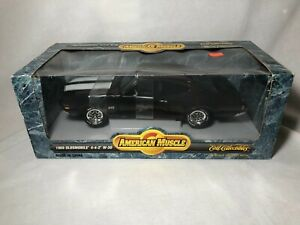 Ertl 1969 Oldsmobile 442 W30 Black American Muscle 1996 1:18 Diecast NEW NIB