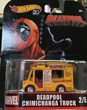 Hot Wheels Retro Entertainment - Deadpool- Chimichanga Truck! -Free Shipping