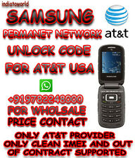 UNLOCK CODE AT&T USA Samsung GALAXY Rugby Pro SGH-I547  OUT OF CONTRACT  ONLY