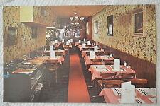 """CPSM """" NEW YORK - La Maison Belge de Crêpes suzette"""