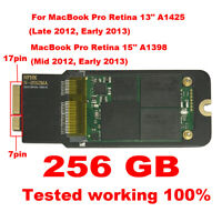 "Apple SSD Upgrade 256GB FOR MacBook Pro Retina 13"" 15"" 2012 2013 A1425 A1398"