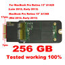 256GB SSD Pcie for Apple MacBook Pro Retina A1425 and A1398 Mid 2012 Early 2013