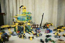 LEGO Aqua Raiders Lot of 4 Sets 7776 7775 7773 7771 ~ NO INSTRUCTION BOOKS