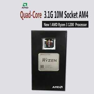 AMD Ryzen 3 1200 3.1GHz 8MB Cache Quad Core Socket AM4 65W CPU YD1200BBAEBOX