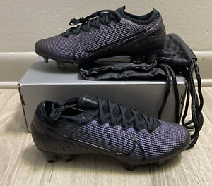 Nike Mercurial Vapor 13 Elite FG Cleats Soccer Black (AQ4176-010) Sz 7
