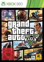 X360 / Xbox Spiel - GTA V (5) / Grand Theft Auto V (5)(OVP)(USK18)