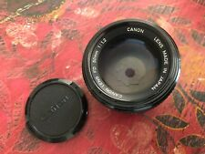 Canon 50mm f1.2 FD - Top Zustand
