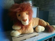 Peluche géante roi lion Mufasa Mattel Nestlé Disney vintage